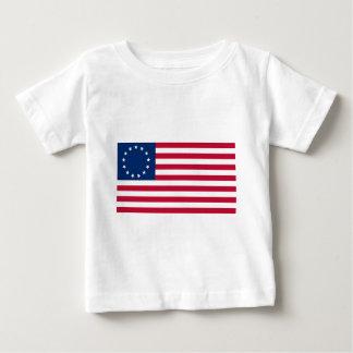 US flag 13 stars Betsy Ross Baby T-Shirt