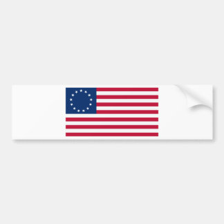 US flag 13 stars Betsy Ross Bumper Sticker