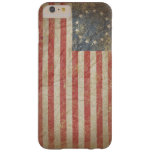 US Flag 1776 Barely There iPhone 6 Plus Case