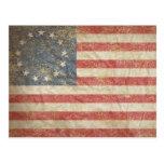 US Flag 1776 Post Card