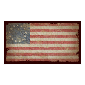 US Flag 1776 Print