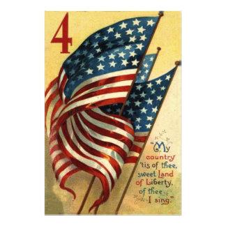 US Flag 4th of July Photo Print