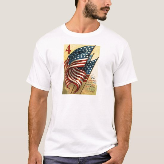 US Flag 4th of July T-Shirt