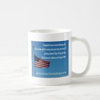 US Flag America Mug