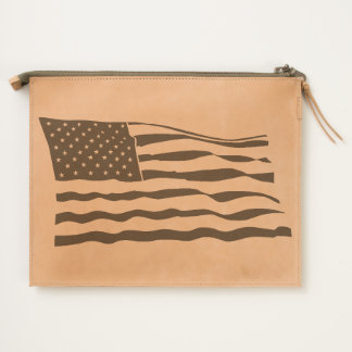 US Flag America Travel Pouch