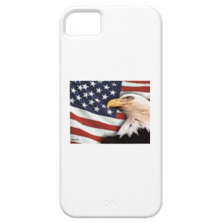 US flag and eagle iphone cover protector iPhone 5 Cases