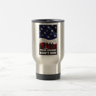 US Flag and Military - These Colors Don t Run Coffee Mug