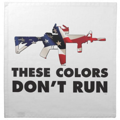 us flag and these colors don t run napkin zazzle