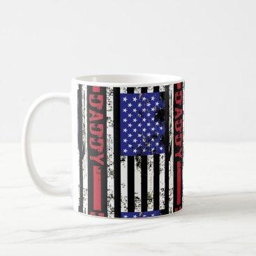 US Flag Best Daddy Ever Coffee Mug