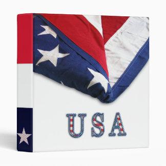 US Flag Binder
