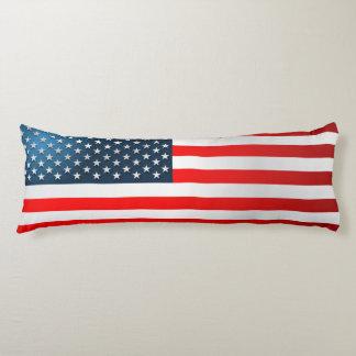 US Flag Body Pillow