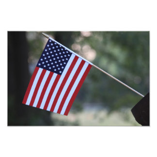 US Flag Bright and colorful Photo