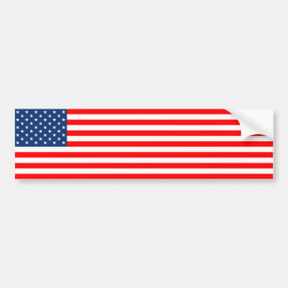 US Flag Bumper Stickers
