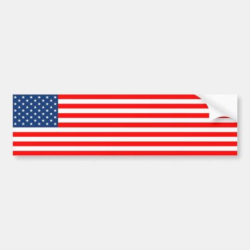 US Flag Bumper Stickers