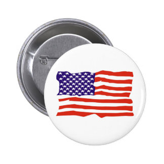 US Flag Buttons