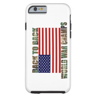 US Flag Camo World War Champs iPhone 6 case