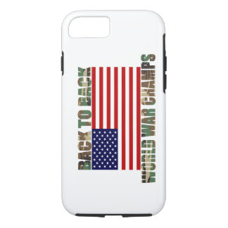 US Flag Camo World War Champs iPhone 7 case