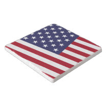 US Flag - Celebrate America - Independence Day Trivet