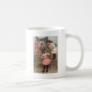 US Flag Civil War Union Memorial Children Coffee Mug