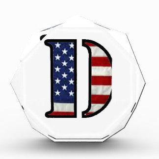 """US Flag """"D"""" Award"""