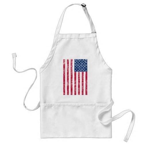 US Flag (damaged) Apron