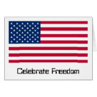 US Flag Day: Freedom in Red, White, and Blue Card