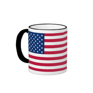 US Flag Day: Freedom in Red, White, and Blue Coffee Mugs