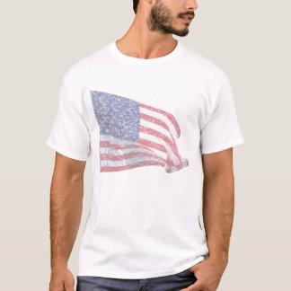 US Flag - distressed T-Shirt