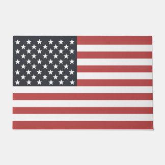 US Flag. Doormat