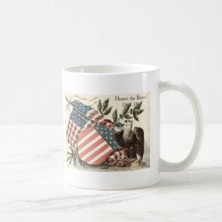 US Flag Eagle Shield Memorial Day Coffee Mug