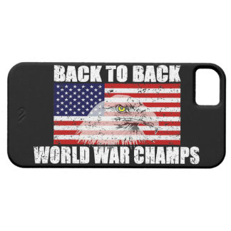 US Flag & Eagle World War Champs iPhone 5 Case
