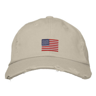 US Flag Embroidered Baseball Hat