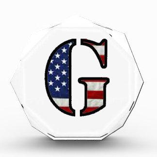 "US Flag ""G"" Award"