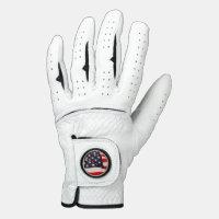 US Flag Golf Glove