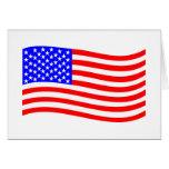US Flag Greeting Card