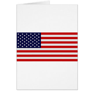 US Flag Greeting Cards