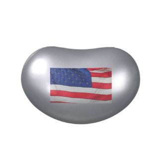 US FLAG JELLY BEAN CONTAINER JELLY BELLY TINS