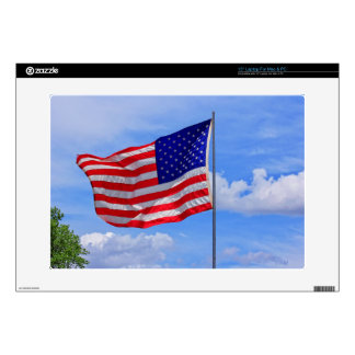 "US Flag Lap Top Skin 15 in 15"" Laptop Decal"