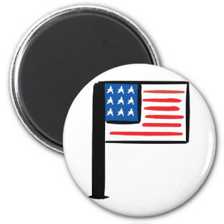 US Flag Magnet