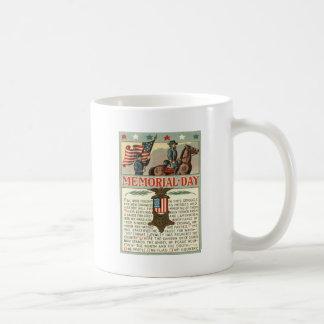 US Flag Medal March Union Soldier Cavalry Coffee Mug