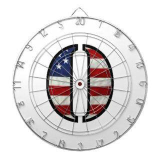 "US Flag ""O"" Dart Boards"