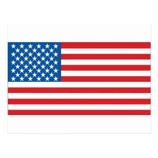 US Flag Postcard