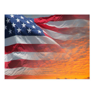 US Flag Postcards