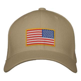 US Flag reversed Embroidered Baseball Caps