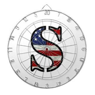 "US Flag ""S"" Dart Boards"