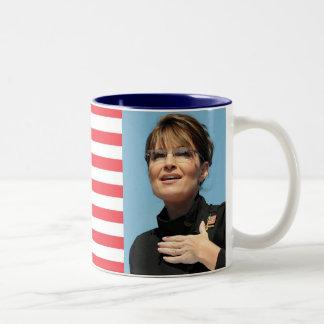 US Flag Sarah Palin Mug
