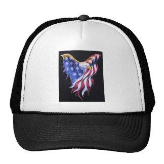 US flag shaped like an eagle Trucker Hat