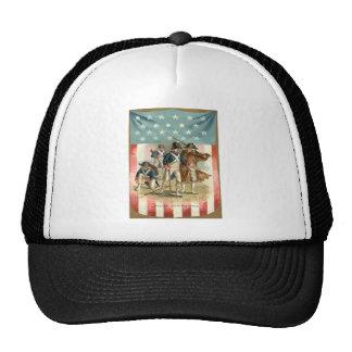 US Flag Shield Continental Army Trucker Hats