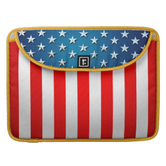US Flag Sleeves For MacBook Pro
