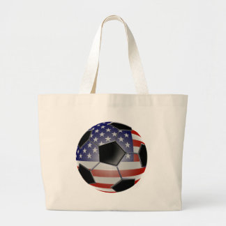 US Flag Soccer Ball Bags